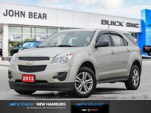 2013 Chevrolet Equinox LS - ONE OWNER. PUCHASED NEW/SERVICED HER