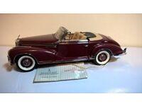 Franklin mint die cast model cars