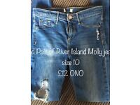 River Island jeans & Replay