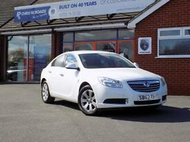 VAUXHALL INSIGNIA 2.0 CDTi SE 5dr (130) * Part Leather & Cruise (white) 2013