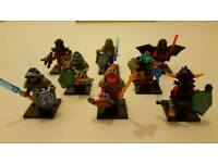 NEXO KNIGHTS 8pcs Minifigures NEW fits Lego