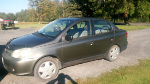 Urgent to be sold by noon Sunday 2004 Toyota Echo Sedan As Is