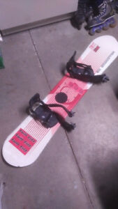 Vision Millennium M3 142cm snowboard w/bindings and boots