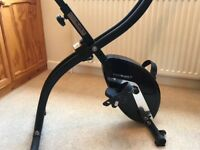 Roger Black Gold Folding Exercise Bike