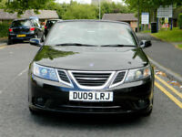 2009 09 Saab 9-3 1.9 TiD Vector Sport 2dr WITH FSH+SATNAV+FULL LEATHER+PDC++