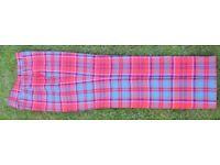 Men's Red Tartan Trews Trousers 32 x 30