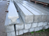 1 x 9 foot reinforced concrete fence fencing heavy duty post post posts COLLECT