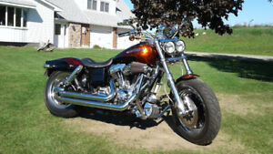 Cvo Harley Davidson Fat Bob. Factory fire and ice paint