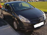 Corsa D Life 1.0 ltr black 3 door 2009 (58 plate) petrol low mileage cheap insurance