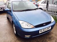 FORD FOCUS 1.6 ZETEC AUTOMATIC BLUE PETROL ALLOYS FULL SERVICE 2 OWNERS