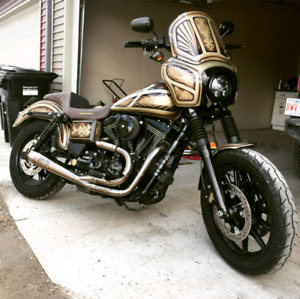 FULL CUSTOM 2014 Harley Dyna FXDL Low Rider MINT! LOW KMS