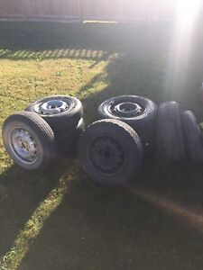 4x100 155r70r13 tires and rims