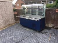 Commercial display chiller