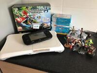 Wii U 32gb & games