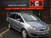 Vauxhall Zafira 1.8i 16v VVT Exclusiv - 1 Yr MOT, Warranty & AA Cover