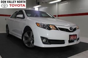 2014 Toyota Camry SE Nav Heated Lthr Sunroof Btooth Cruise Pwr S