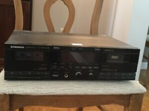 Pioneer Double Cassette Recorder/Player