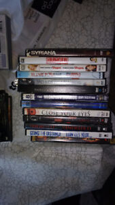 DVDs are $1 each