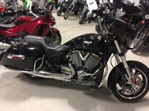 2014 Victory Motorcycles Cross Country Gloss Black