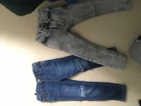 River island and next jeans age 3/4