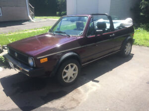 1987 VW Cabrio - REDUCED FOR QUICK SALE