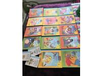 Bundle of 17 Vintage Collectable Winnie The Pooh Books - Whitefield