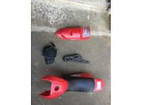 Mini motor quad plastics