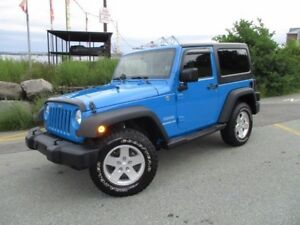 2011 Jeep WRANGLER Sport 2-DOOR (4X4, AUTOMATIC TRANS, AIR CONDI