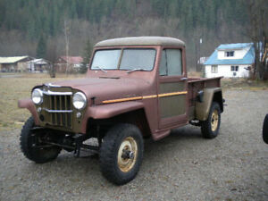 1956 Willys Truck parts