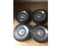 """Calibre 15"""" alloys with maxi tyres!"""