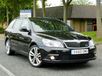 2010 60 Skoda Octavia 2.0 TDI CR vRS 5dr WITH FSH+FULL LEATHER+CRUISE+PDC