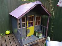 Kids play shed