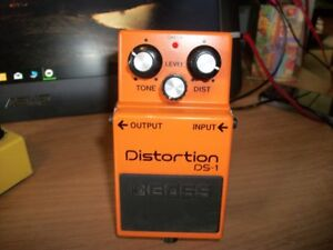 Boss Distorion pedal