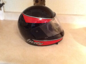 Vintage Polaris Snowmobile helmet