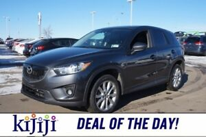 2014 Mazda CX-5 AWD GT Leather,  Sunroof,  Heated Seats,  Backup