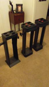 Game towers with place for 2 controllers and a headset 20$ each
