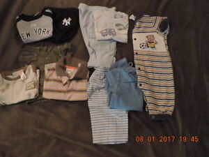 """Small """"Lot"""" of Boy's 3-6months Summer Clothes"""