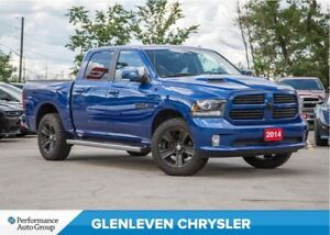 2014 Ram 1500 Sport | HEMI | LEATHER | NAV | BU CAMERA