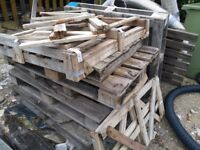 Wood.pallets ect.free for collection