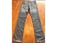Womens 'DOLCE & GABBANA' JEANS W31 L34 BOOTCUT STYLE ZIP FLY