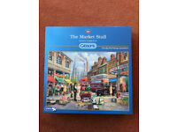 GIBSONS 1000 PIECE JIGSAW PUZZLE-THE MARKET STALL