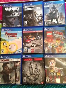 8 PS4 GAMES LEFT