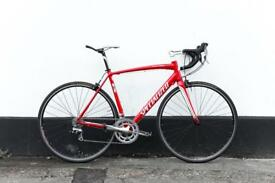 Specialized elite red bicycle shimano Tiagra parts 56 cm