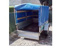 Car Trailer for sale (with cover)