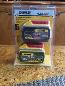 Kit de 2 batteries DeWalt 20 Volts