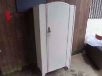 Shabby Chic Single Wardrobe Delivery Available
