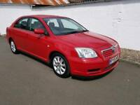 Toyota avensis T3-S 2005 years mot excellent condition low miles