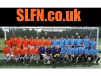 Join one of our teams. PLAYERS WANTED. Find football in London, play football in London, 89345rt