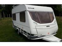Lunar4 berth 2002 caravan