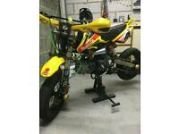 Supermoto demon x 160 pitbike